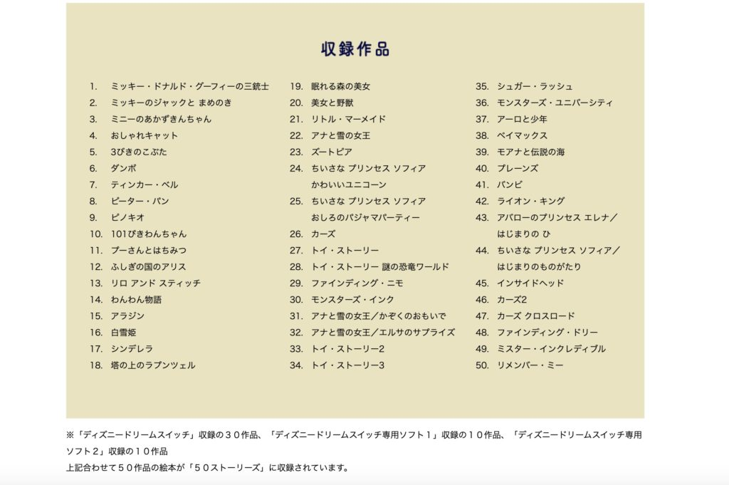 DreamSwitch50-syuuroku-ehonn